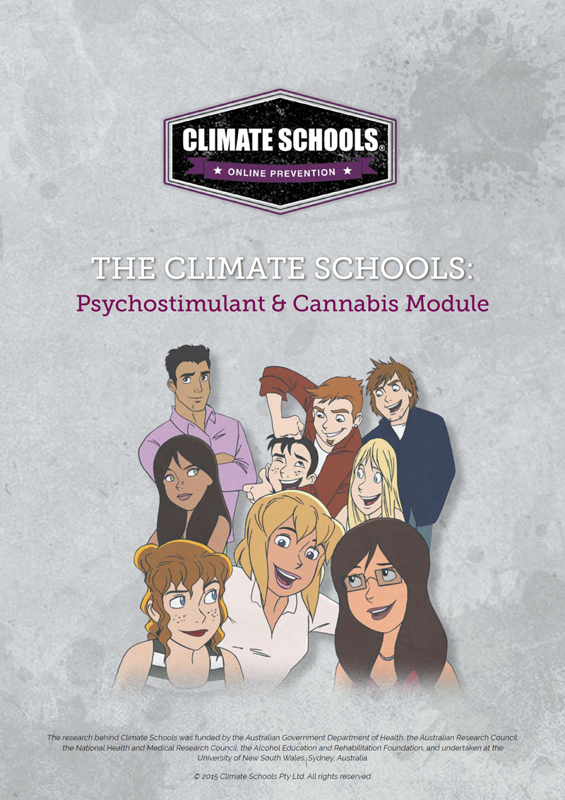 Psychostimulant and Cannabis Education (Year 10)
